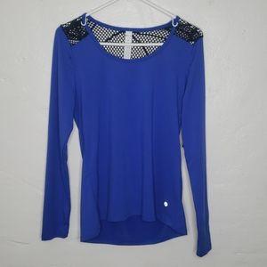 Bally Bright Blue Long Sleeve Shirt